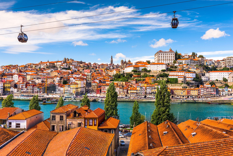 Порту, старый город португалии на реке дору, лучшие места в европе для посещения