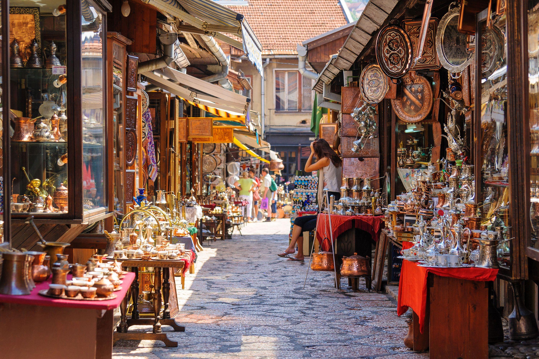 Рынок Сараево лучшие места для посещения в европе
