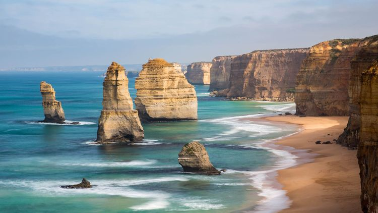 The 12 Apostles, located in Port Campbell, Victoria © Darryl Leach/Shutterstock