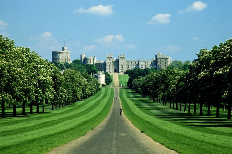 England,Berkshire,Windsor Castle, The Long Walk