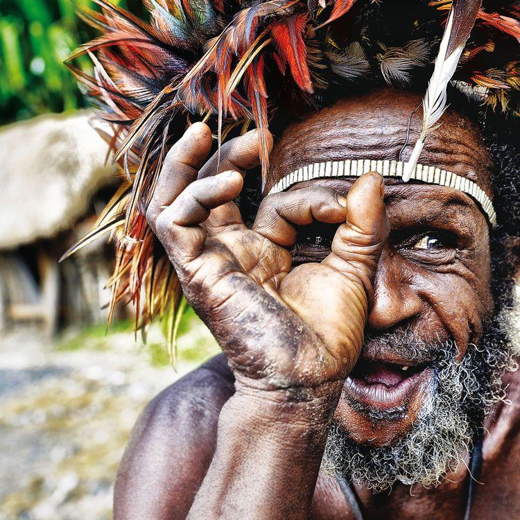 Dani man, West Papua