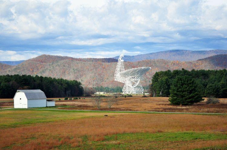 Green Bank West Virginia, USA