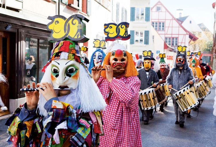 Fasnacht Carnival of Basel © Schweiz Tourismus/Christof Sonderegger