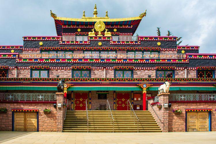 Kagyu Samye Ling Monastery and Tibetan Centre, Eskdalemuir, Scotland © Caroline Jane Anderson/Shutterstock
