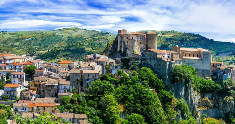 Oriolo, one of the most beautiful medieval fortress in Italy