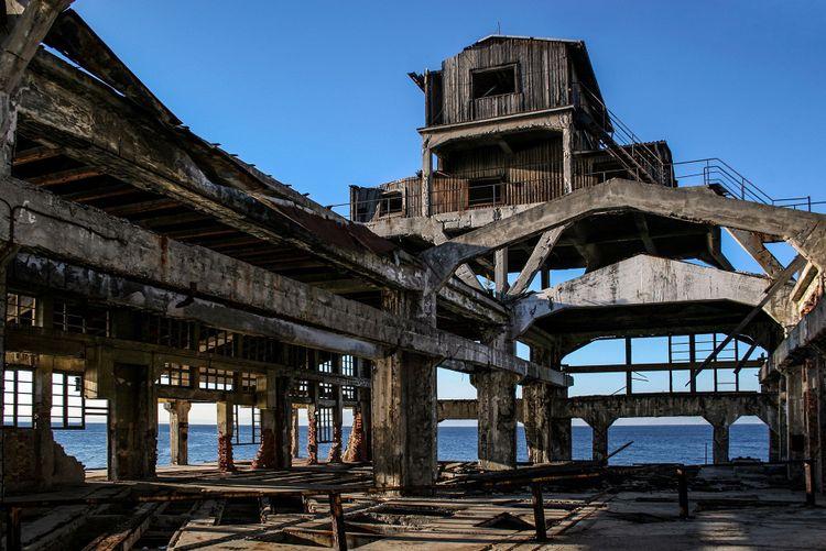 Abandoned launch pad of torpedo factory, Rijeka © DragonPhotos/Shutterstock