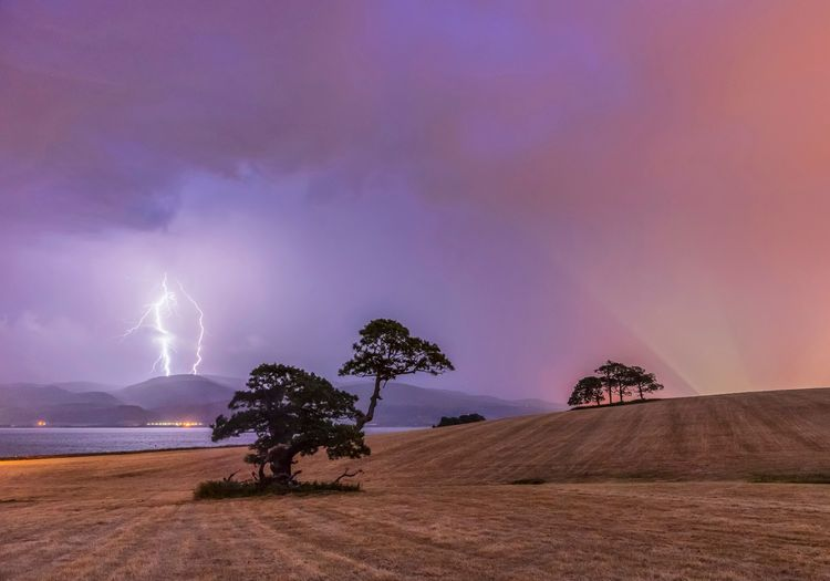 An incoming storm at, Beaumaris, Anglesey