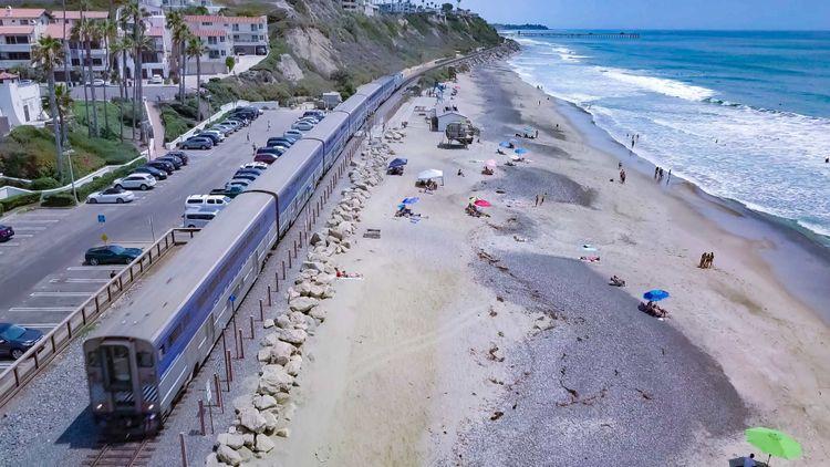 beach-train-california-usa-shutterstock_1155310780