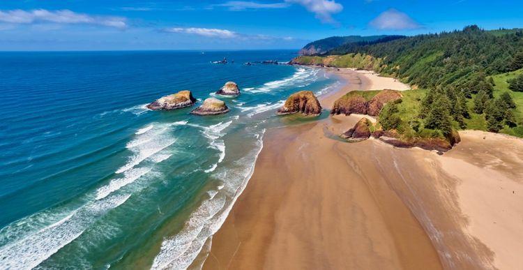 Cannon Beach, Ecola State Park, Oregon