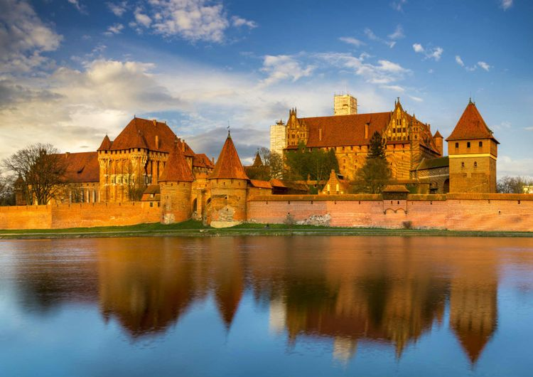 Castle Malbork, Poland © Shutterstock