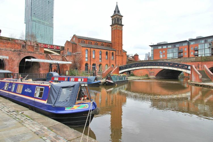 castlefield district manchester uk