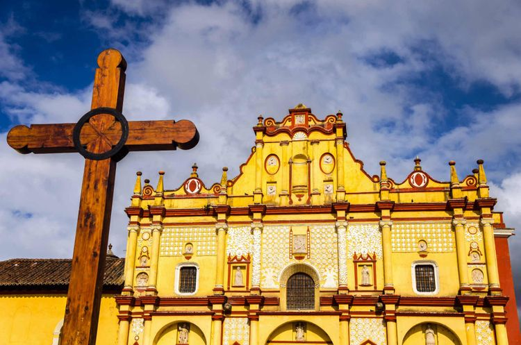 Cathedral San Cristobal de las Casas, Chiapas - Mexico @ Shutterstock