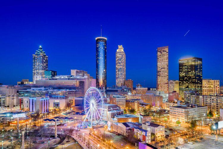 Atlanta, Georgia USA downtown city skyline © Sean Pavone/Shutterstock