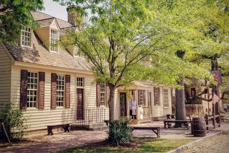 Colonial Williamsburg, Virginia © Christopher Sciacca/Shutterstock