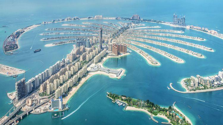 Dubai Palm Jumeirah Island, Dubai © Delpixel/Shutterstock
