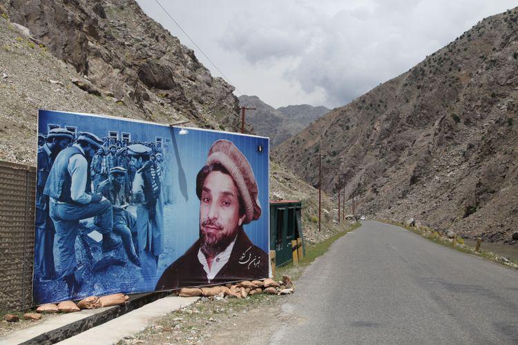 Entrance to Panjshir valley