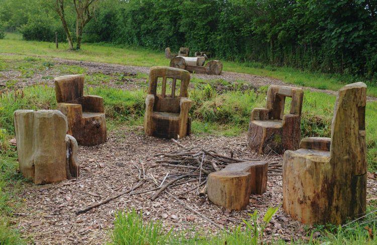 furniture-oak-playground-buckland-devon-england-uk-shutterstock_277345868