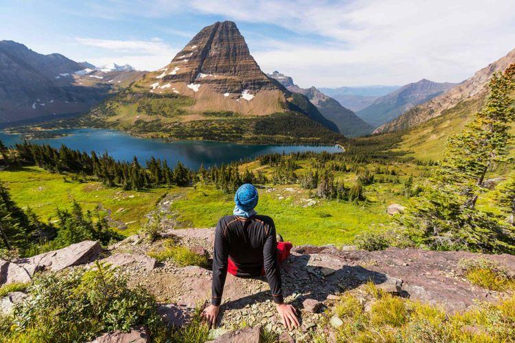 Hike in Glacier National Park, Montana © Galyna Andrushko/Shutterstock