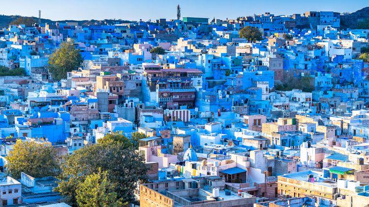 Jodhpur, the Blue City, Rajasthan, India © Avigator Fortuner/Shutterstock