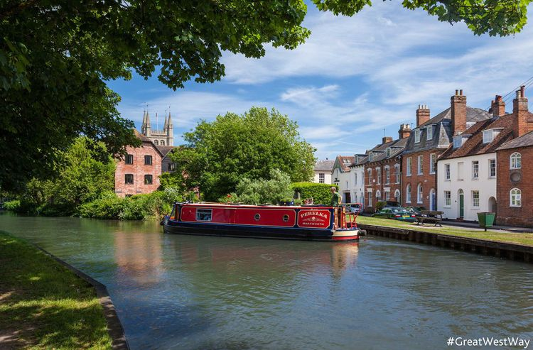 Kennet and Avon Canal, Newbury © greatwestway.co.uk