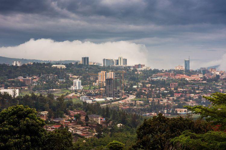 Kigali city centre skyline and surrounding areas © Jennifer Sophie/Shutterstock