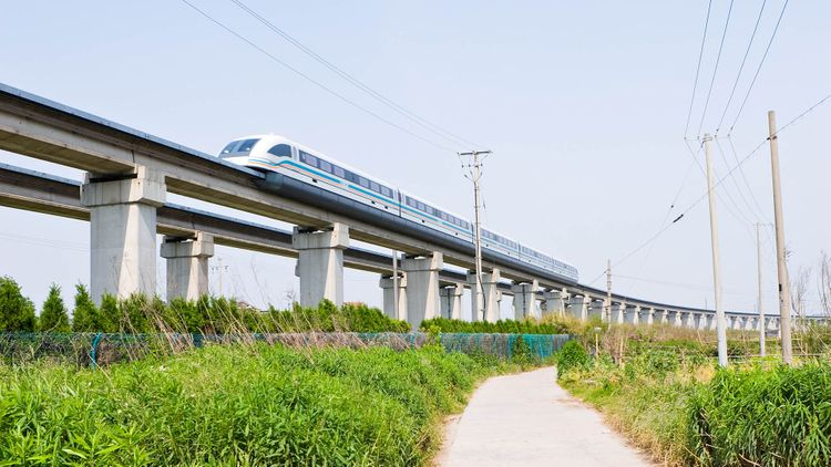 Maglev - Shanghai bullet train