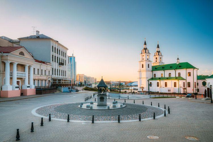 Minsk, Belarus. Cathedral Of Holy Spirit In Minsk © Grisha Bruev/Shutterstock