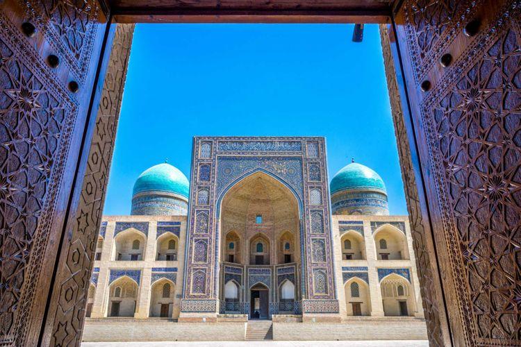 mir-arab-bukhara-uzbekistan-shutterstock_672892897