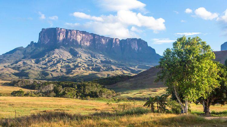 Mount Roraima in Venezuela © Marcelo Alex/Shutterstock