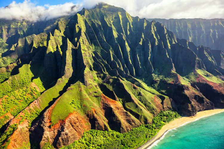 Na Pali Coast, Kauai, Hawaiian Islands