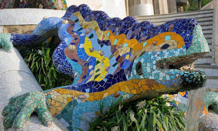 Park Guell Barcelona, Spain © Shutterstock