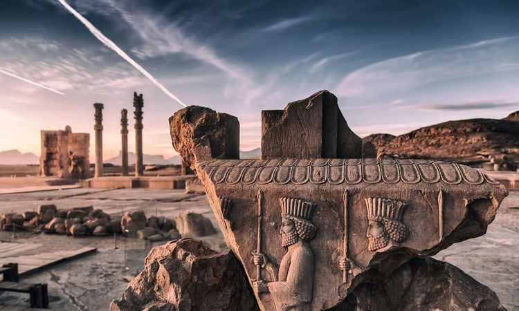 Persepolis (Old Persian: Pārsa) was the ceremonial capital of the Achaemenid Empire © MORTEZA YOUSEFI/Shutterstock