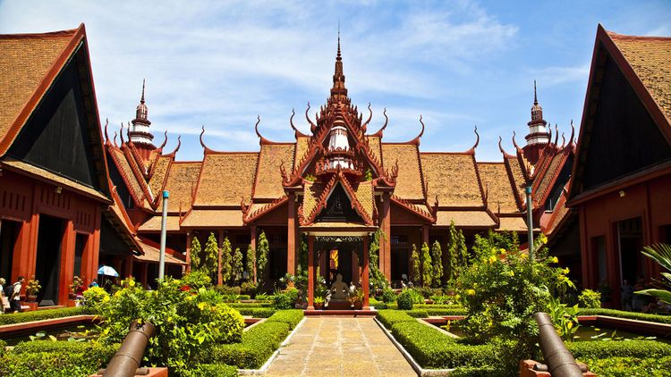 National Museum in Phnom Penh, Cambodia © Marcel Toung/Shutterstock