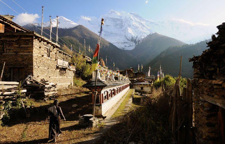 Pisang, Nepal