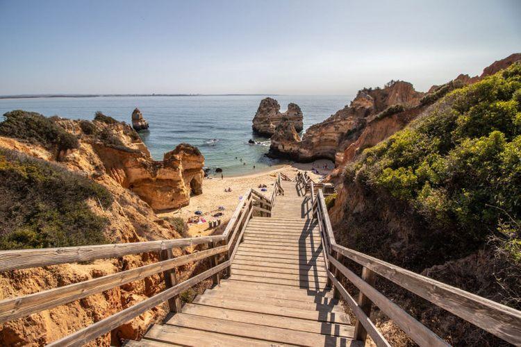 Beach of Camilo, Algarve, Portugal © Shutterstock