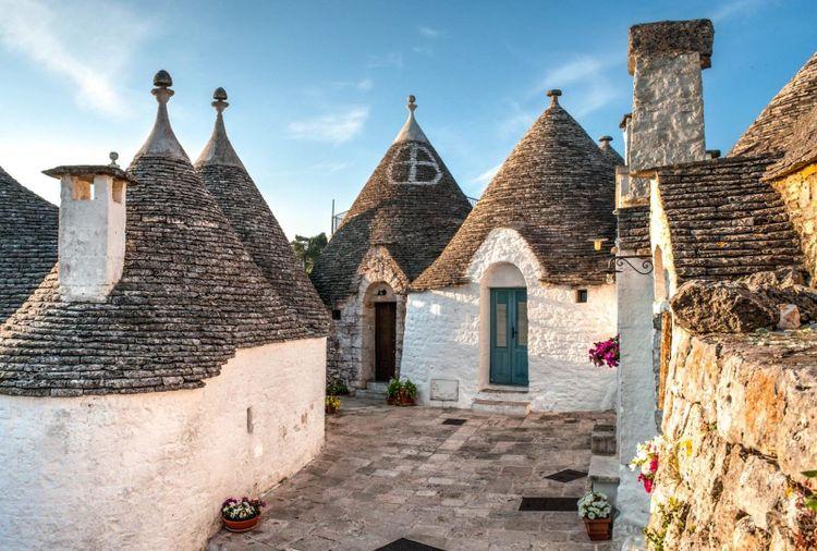 Trulli houses in Puglia, Italy