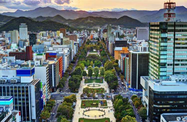 Sapporo, Hokkaido, Japan © Shutterstock
