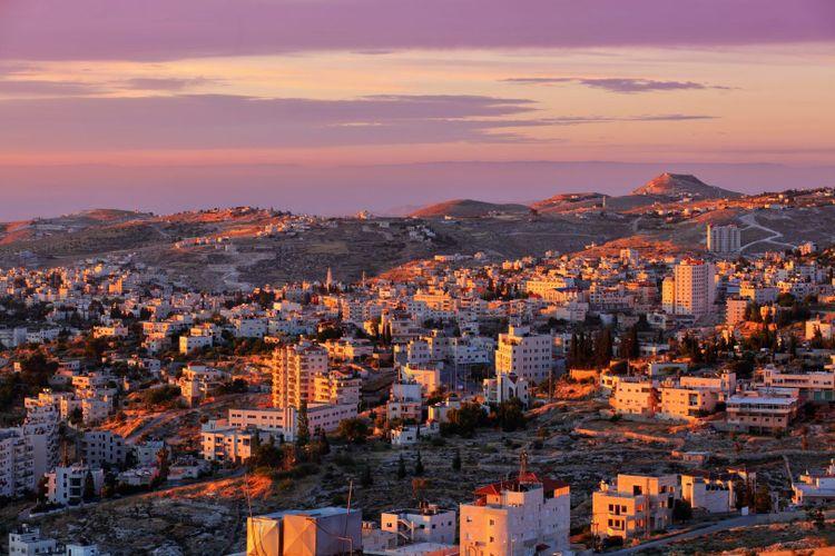 sunrise over bethlehem