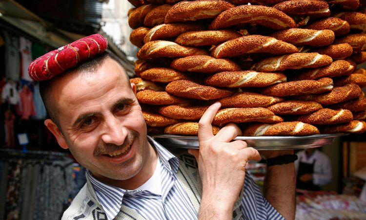 Simit bread, Turkey