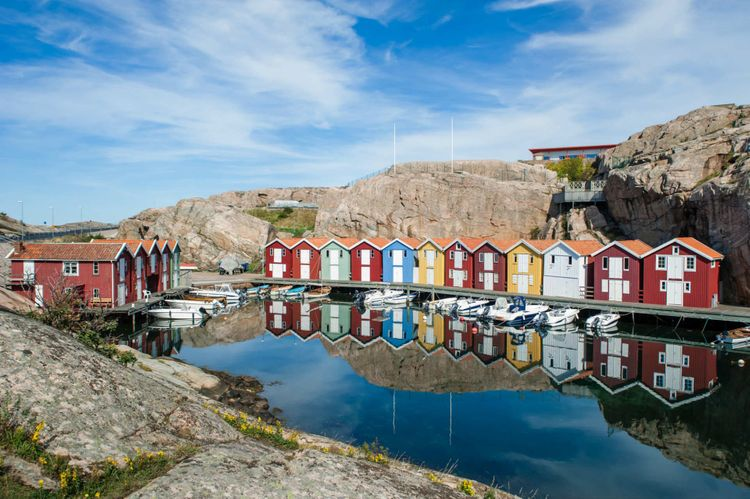 Smögen, a Swedish harbour town that comes alive in summer