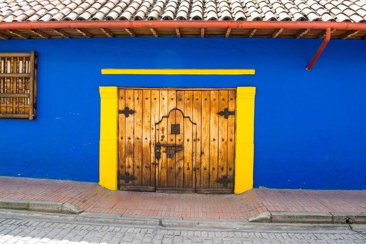 Colourful house Bogota