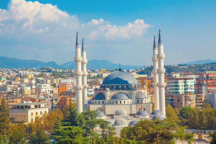 Tirana, Albania © RussieseO/Shutterstock