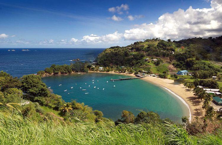 Trinidad and Tobago coast, Parlatuvier bay © Claudio306/Shutterstock