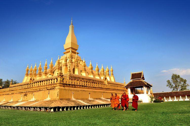 Wat Phra That Luang, Vientiane ©  Gaid Kornsilapa/Shutterstock