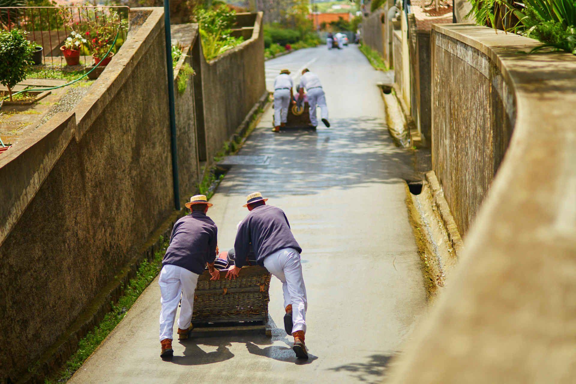 toboggan-bois-luge-funchal-madère-portugal-shutterstock_630780314